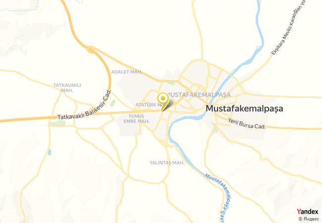 Mustafa Kemal Paşa Anadolu İmam Hatip Lisesi Haritası