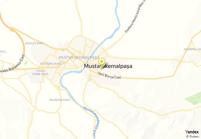 Züferbey Yatılı Bölge Ortaokulu Haritası