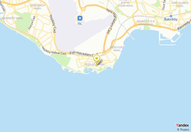 Özel Yeşilköy Gymboree Anaokulu Haritası