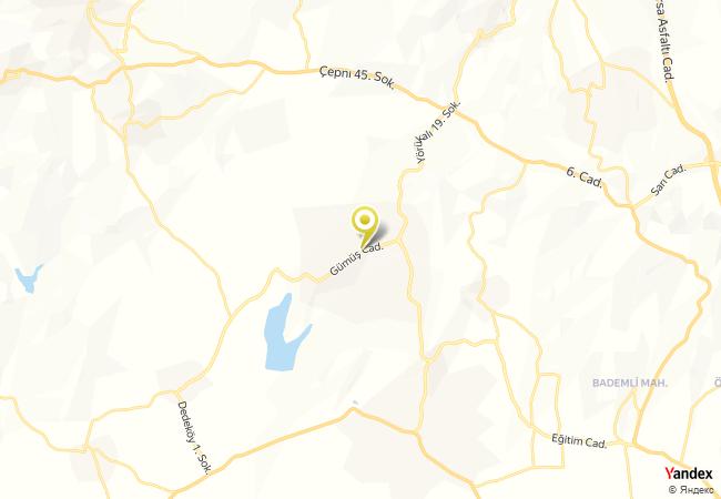 Ülkü Köyü İlkokulu Haritası