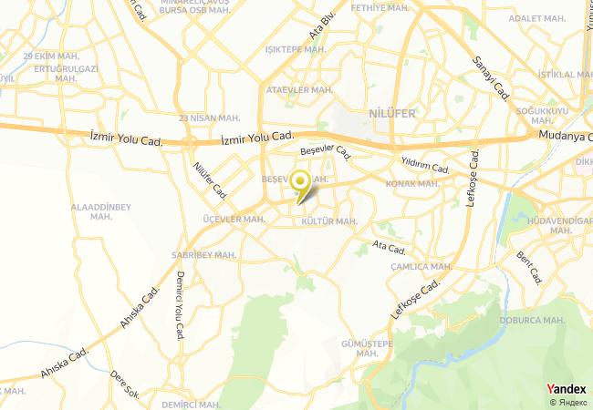 Abdurrahman Vardar Ortaokulu Haritası