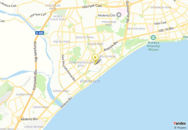 Özel Zeynep Deniz Anaokulu Haritası