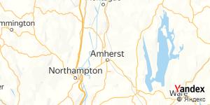 Direction for - Umass Amherst,Massachusetts,US