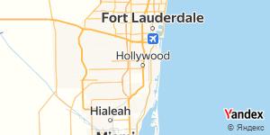 Direction for - U-Haul Hollywood,Florida,US