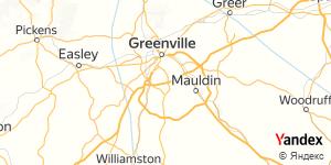 Direction for - Motel 6 Greenville,South Carolina,US