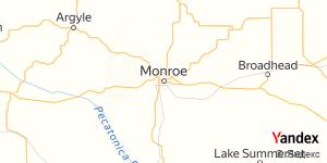 Direction for - Corner Cafe Monroe,Wisconsin,US
