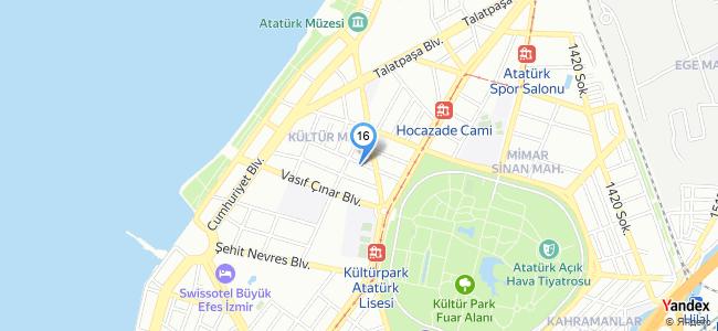 Gusto Confiserie (İzmir / Konak) - konum