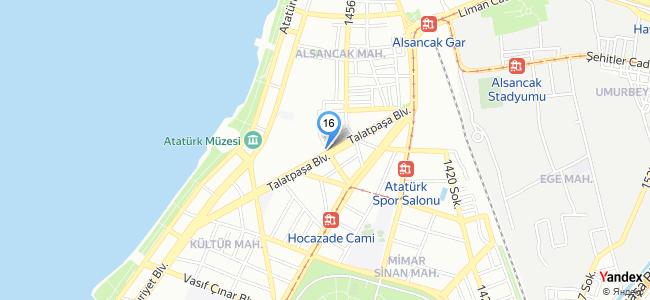 Ayce Nikah Şekeri Ve Davetiye (İzmir / Aliağa) - konum