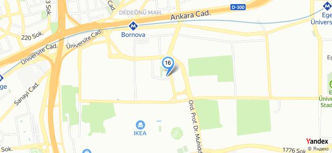 Tenis Cafe Catering (İzmir / Bornova) - konum