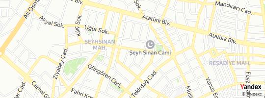 Direction for - Özer Halı Yıkama (Salih Öztürk) çorlu,Tekirdağ,Turkey