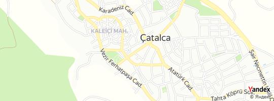 Direction for - İstanbul Büyükşehir Belediye Başkanlığı - Mezarlıklar Müdürlüğü - Çatalca Cenaze İşleri Şefliği çatalca,İstanbul,Turkey