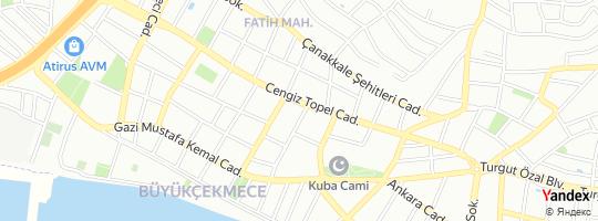 Direction for - Özen Emlak (İsmet Özen) Büyükçekmece,İstanbul,Turkey