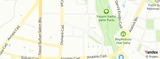 Direction for - Kyc Cafe & Restaurant (Serkan Kıyıcı) Beylikdüzü,İstanbul,Turkey