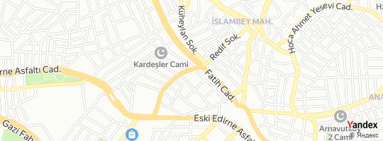 Direction for - Tespo Arnavutköy Şubesi - Tespo Tüketim Malları San. Ve Tic.A.Ş. Arnavutköy,İstanbul,Turkey