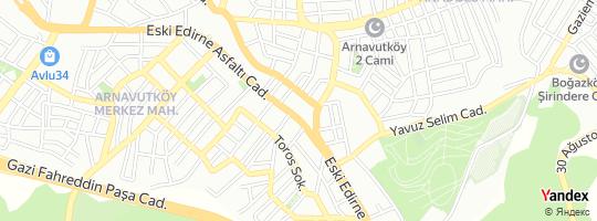 Direction for - Nesrin Özer Eczanesi (Aynur Güney) Arnavutköy,İstanbul,Turkey
