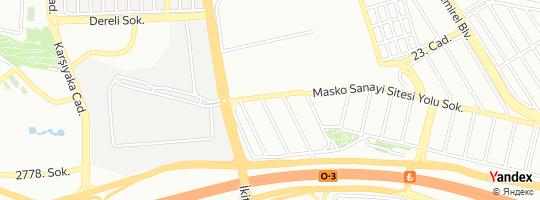 Direction for - Ser Demir Sınai Ve Tıbbi Gazlar (Abdullah Serkan Özdemir) Başakşehir,İstanbul,Turkey