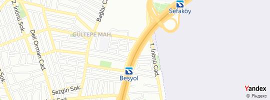 Direction for - Tuğra Reklam (Özlem Aktürk) Küçükçekmece,İstanbul,Turkey