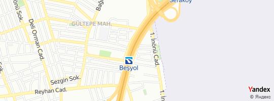 Direction for - Bulurum Küçükçekmece,İstanbul,Turkey