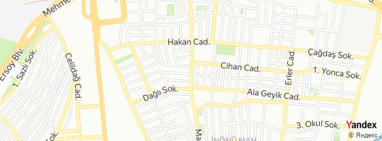 Direction for - Türk Telekom - Türk Telekomünikasyon A.Ş. Küçükçekmece,İstanbul,Turkey