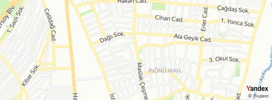 Direction for - Ziraat Bankası İnönü Mahallesi Şubesi - Türkiye Cumhuriyeti Ziraat Bankası A.Ş. Küçükçekmece,İstanbul,Turkey