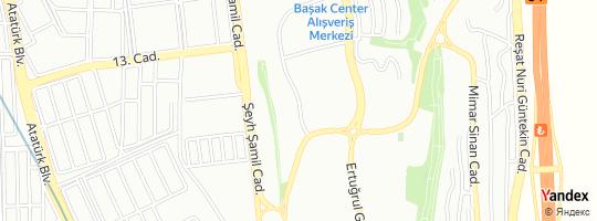 Direction for - Melek Tavlaşoğlu Başakşehir,İstanbul,Turkey