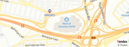 Direction for - Konyalı Saat Mall Of İstanbul Avm Şubesi - Konyalı Ersa Mağazacılık Tic.A.Ş. Başakşehir,İstanbul,Turkey