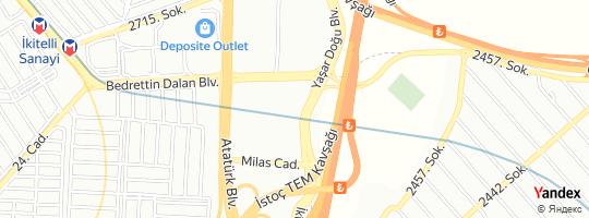 Direction for - Kale Yediemin Otoparkı - Os-Ka Elektronik Ziraat Hayvancılık Gıda Kimya İnşaat Otomotiv San. Ve Tic.Ltd.Şti. (Salih Nebi Kale) Başakşehir,İstanbul,Turkey