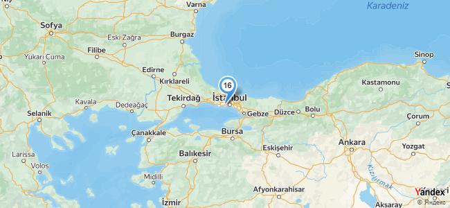 İstanbul Kanatçısı - konum