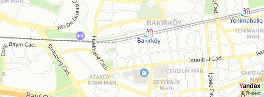 Direction for - Newport Unıversıty - Kampüs Eğitim Kurumları A.Ş. Bakırköy,İstanbul,Turkey