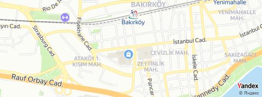 Direction for - Elle Ayakkabı Capacıty Şubesi - El Ayakkabı İmalat San. Ve Tic.A.Ş. Bakırköy,İstanbul,Turkey
