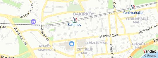 Direction for - Net Hareket Bakırköy,İstanbul,Turkey