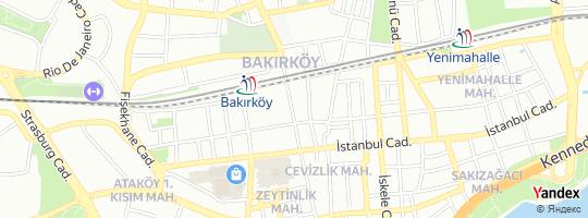 Direction for - Penti İstasyon Caddesi Şubesi - Penti Giyim Tic.A.Ş. Bakırköy,İstanbul,Turkey