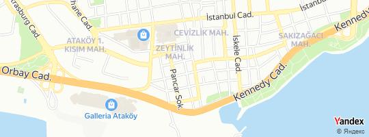 Direction for - Surp Asdvadzadzin Ermeni Kilisesi Bakırköy,İstanbul,Turkey
