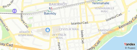 Direction for - Damlacan Sigorta - Damlacan Sigorta Aracılık Hizmetleri Tic.Ltd.Şti. (Yunus Emre Kan) Bakırköy,İstanbul,Turkey