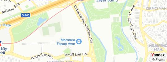 Direction for - Mavi Jeans Marmara Forum Avm Şubesi - Mavi Giyim San. Ve Tic.A.Ş. Bakırköy,İstanbul,Turkey