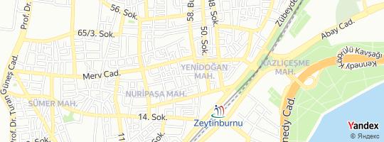 Direction for - Kapalı Çarşı Döviz - Kapalıçarşı Döviz Ve Kıymetli Maden Ticareti A.Ş. Zeytinburnu,İstanbul,Turkey