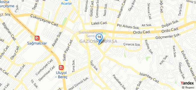 Gopark Grand Salon (İstanbul / Gaziosmanpaşa) - konum