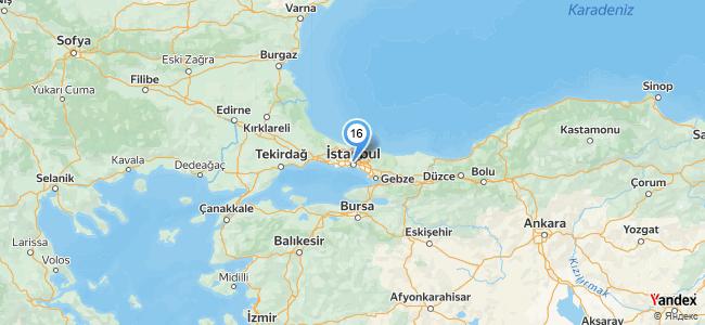 La Cuento Karaköy - konum