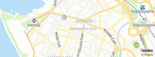 Direction for - Ortayer - Hayalistan İletişim Hizmetleri Ltd.Şti. (Sufyani Bıyık) Kadıköy,İstanbul,Turkey