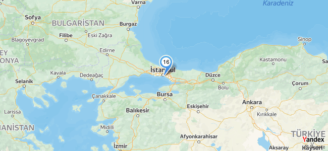 Herise İstanbul - konum
