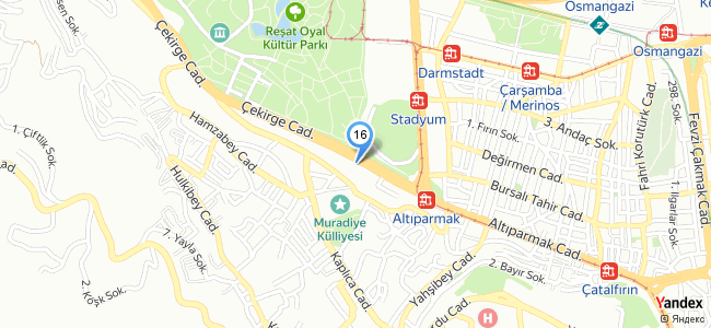 Kırcı Hotel (Bursa / Osmangazi) - konum