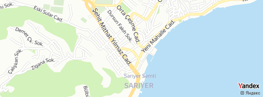Direction for - Denizbank Sarıyer Şubesi - Denizbank A.Ş. Sarıyer,İstanbul,Turkey