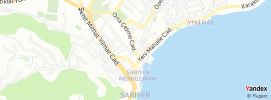 Direction for - Sarıyer Teknik (İbrahim Geçgin) Sarıyer,İstanbul,Turkey