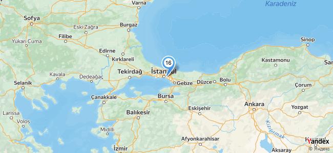 The City Brasserie - Sheraton Grand Ataşehir - konum