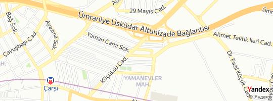 Direction for - 105340 Nolu İddaa Ve 1288 Nolu Ganyan Bayi (Orhan Aksu) ümraniye,İstanbul,Turkey