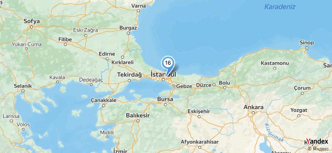 Teras Anadolu Sofrası Kavacık - konum