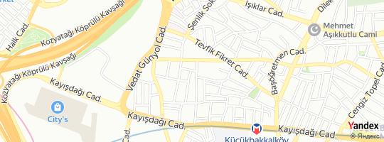 Direction for - Klc Yapı Denetim - Klc Yapı Denetim Ltd.Şti. Ataşehir,İstanbul,Turkey