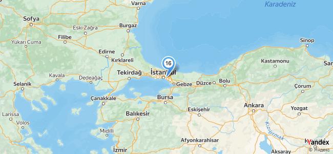 Trabzon Pide ve Kuru Fasülye - konum
