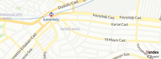 Direction for - 3A Mühendislik - 3 A Mühendislik Proje Taahhüt Müşavirlik San. Ve Tic.Ltd.Şti. Ataşehir,İstanbul,Turkey
