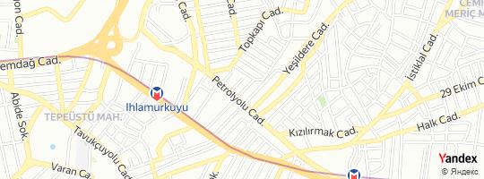 Direction for - Garanti Bankası Dudullu Şubesi - Türkiye Garanti Bankası A.Ş. ümraniye,İstanbul,Turkey